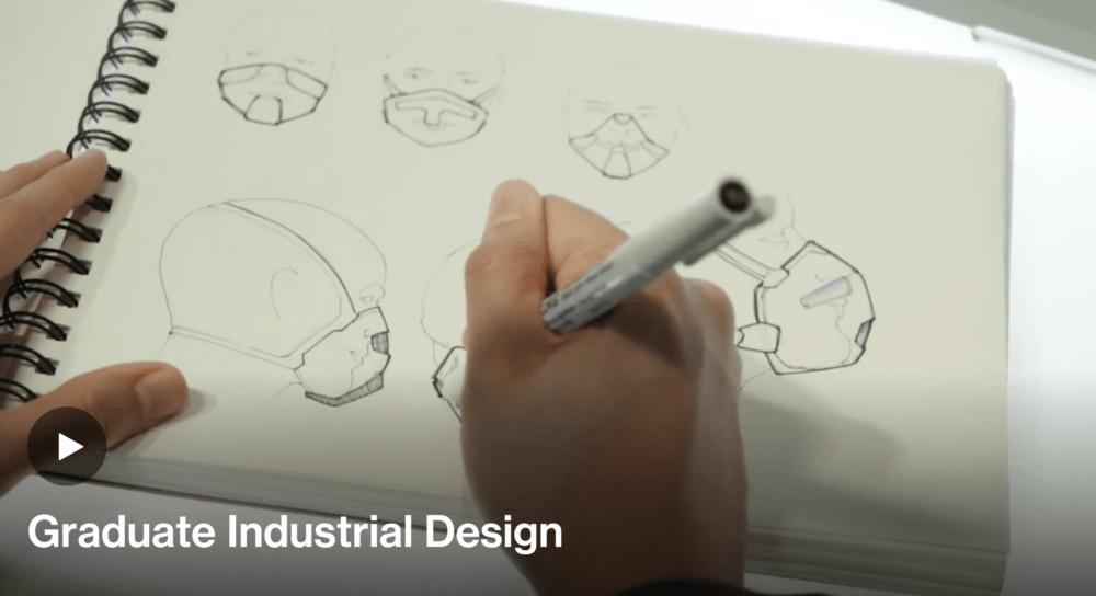 Graudate Industrial design sketch Art Center students pasadena
