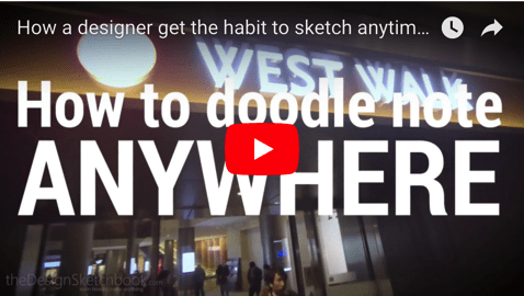 No time for practice ? How a designer sketch anytime, anywhere !
