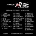 Participate in #Productober | Inktober for Industrial Designers!