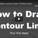 How to draw with Contour lines and draw faster, cleaner, better (Your first steps) TIP 252
