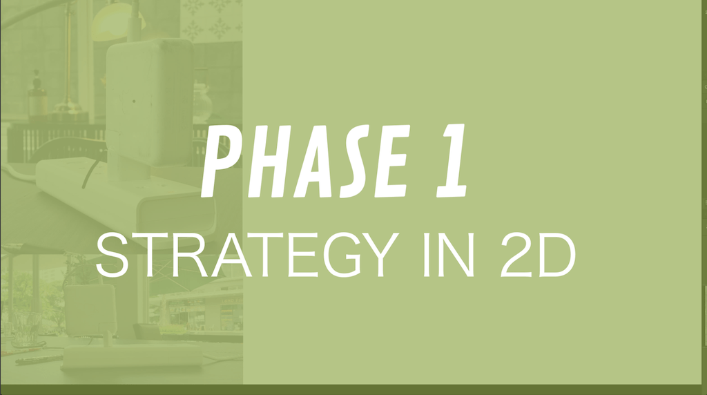 PHASE 1 Strategy in 2D