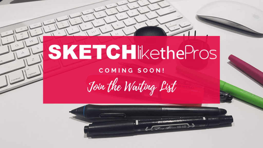 Sketch like the pros - Join Waiting list