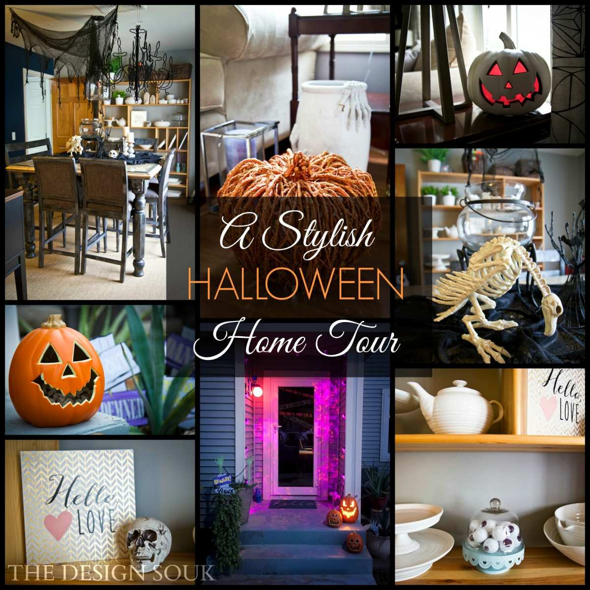 A Very Stylish Halloween Home Tour!