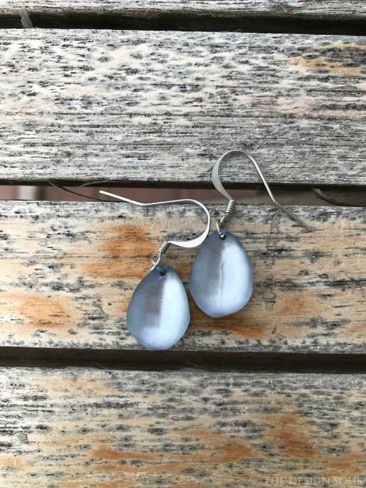 Earrings from Saraceno in Bellagio