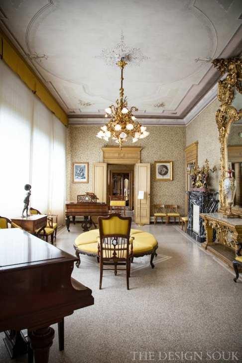 Inside Villa Monastero