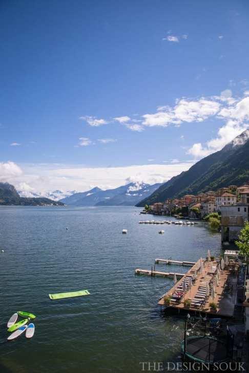 Lake Como & Villa Aurora Patio | THE DESIGN SOUK | www.thedesignsouk.com