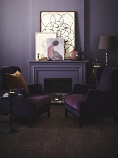 A tone-on-tone living room | Photographer: Angus Fergusson | Source: House & Home October 2012 issue
