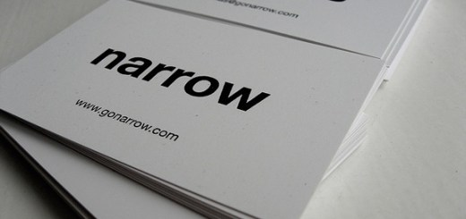 Simple Typography in Business Cards