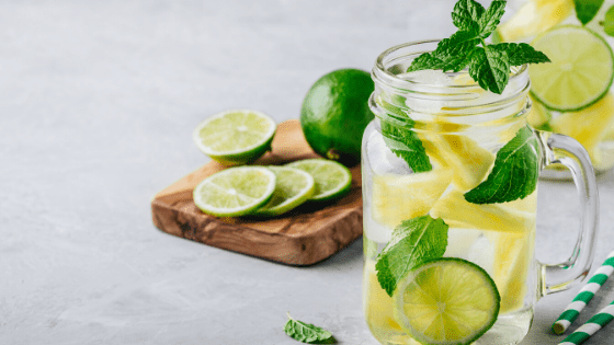 Fat Burning Detox Water Recipe For Flat Tummy