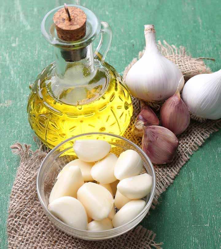 100% Effective DIY Garlic Hair Oil For Super Hair Growth