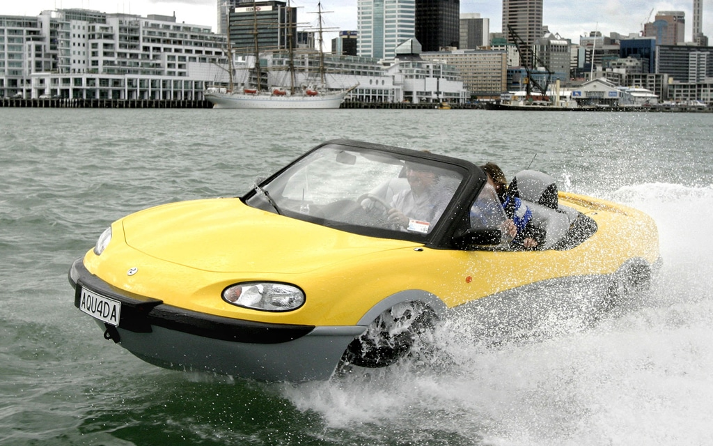 Image result for car driving on water pictures