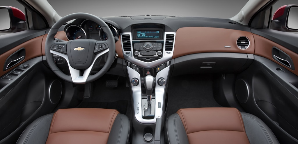 Chevy Finally Has Competitive Compact In Cruze