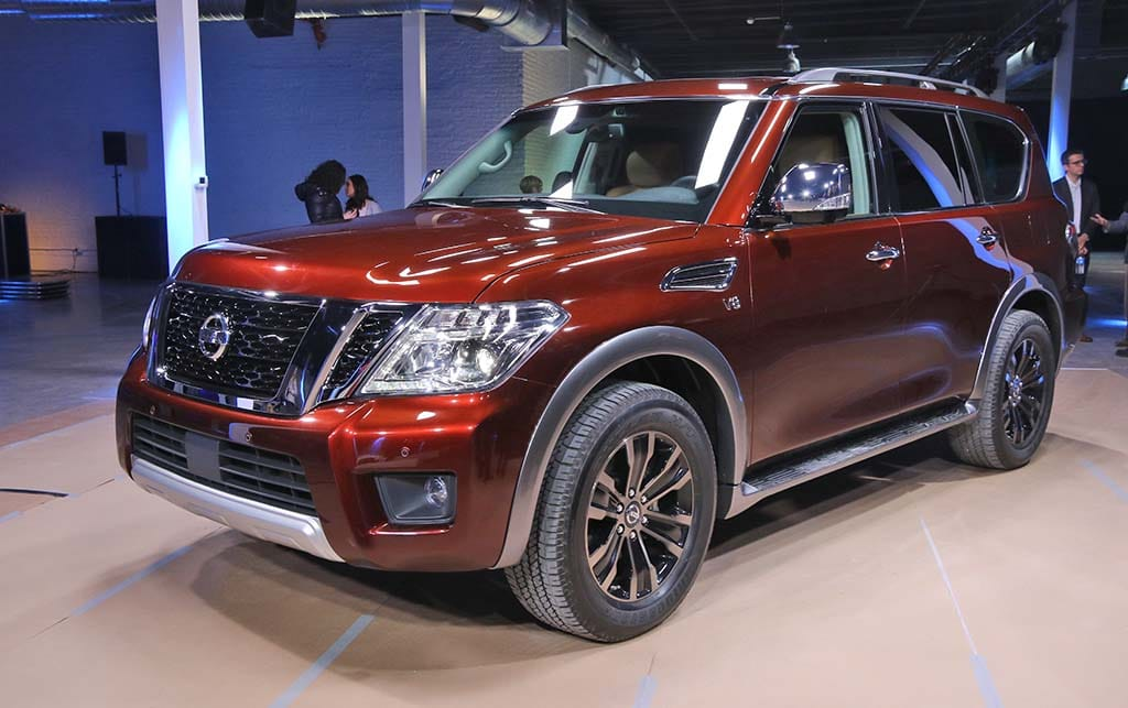 Nissan Ships New Armada To Chicago