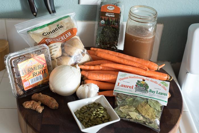 Carrot Potato Soup Recipe Ingredients