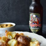 Iron Maiden Trooper Ale & Fried Potatoes with Curry Mayo