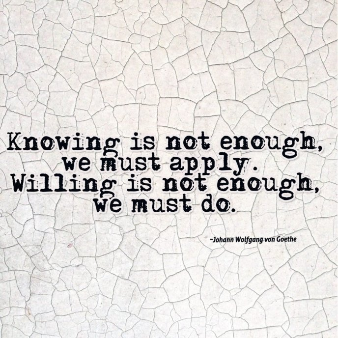 meaningful quotes-willing is not enough