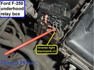 Color of reverse wire behind dash  Diesel Forum  TheDieselStop