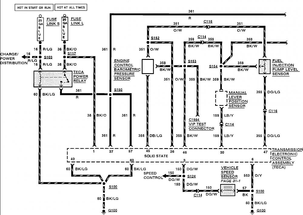 94 F350 Injector Pump Sensor International