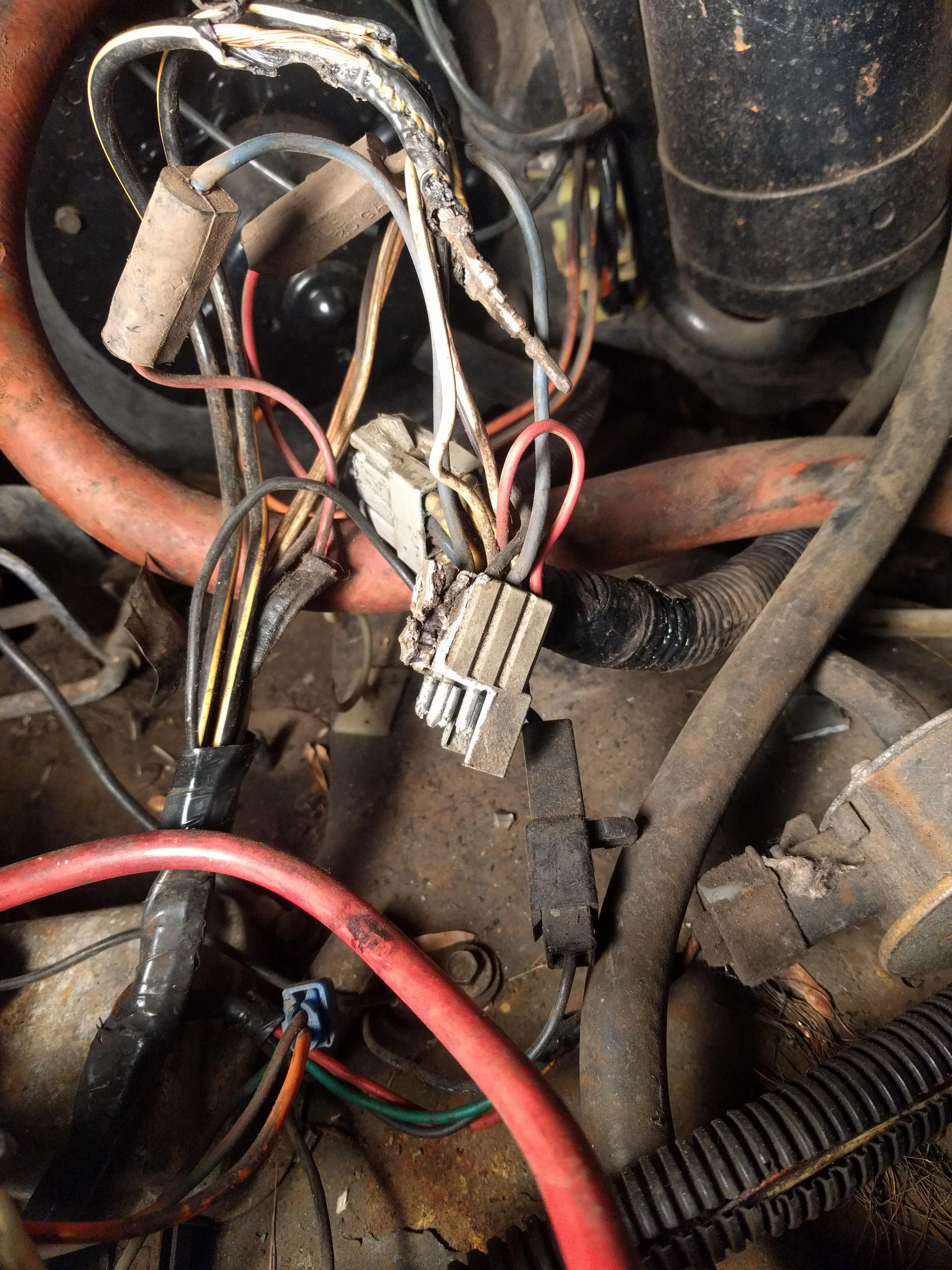 F250 6 9l Idi Melted Wiring Harness
