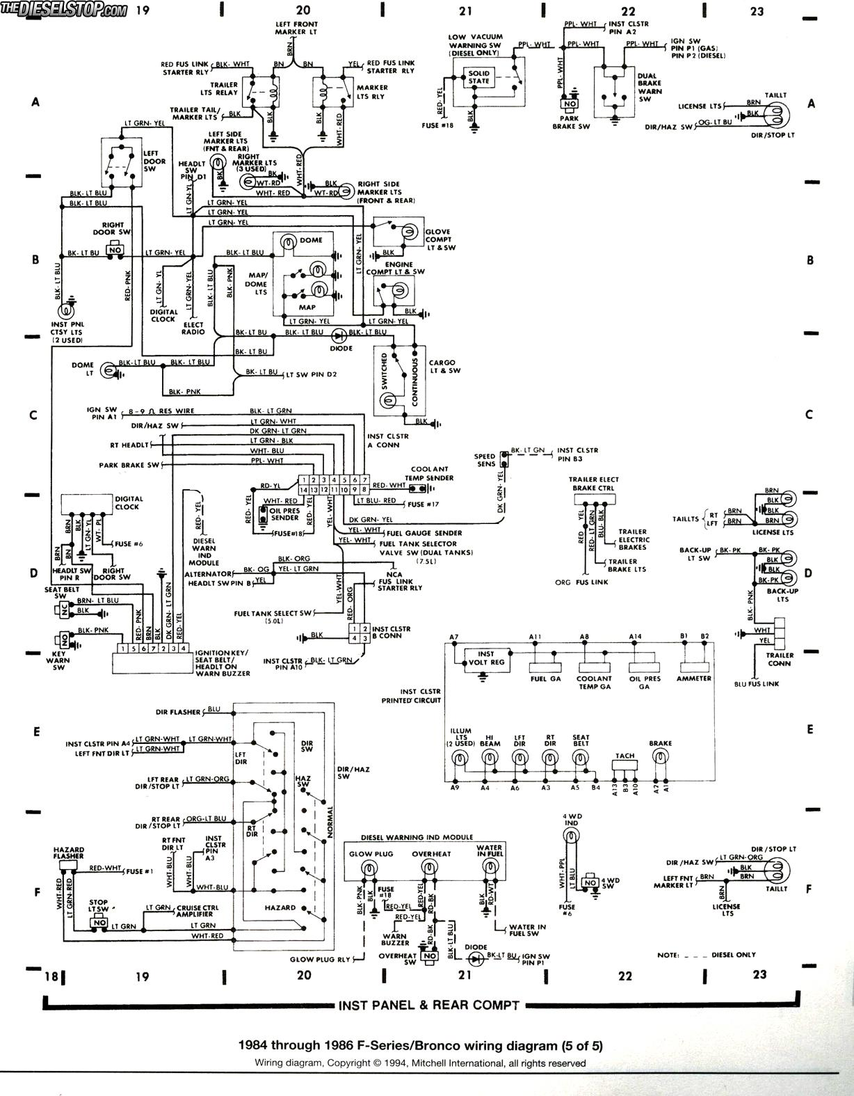 7 Pin Wiring Diagram Ford