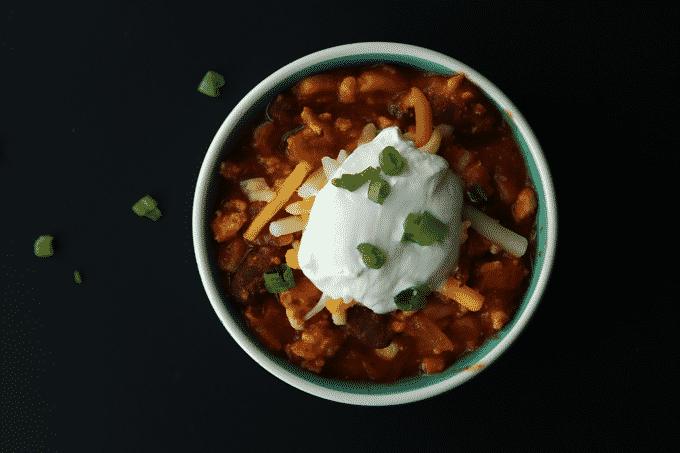 Healthy Turkey Chili Recipe The Diet Chef