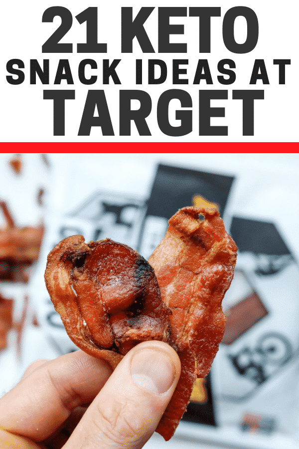21 KETO SNACK IDEAS AT TARGET
