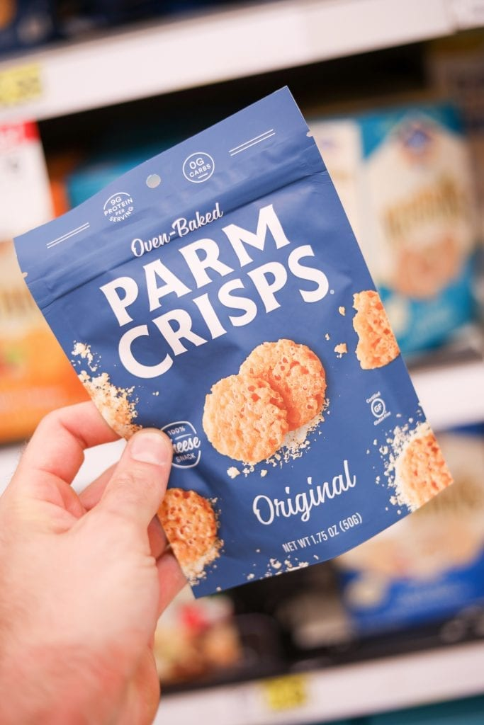 Original Parm Crisps are one of the Best keto snack ideas from Target.