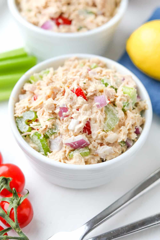 Keto Tuna Salad The Best Easy Low Carb Tuna Salad Recipe For Keto