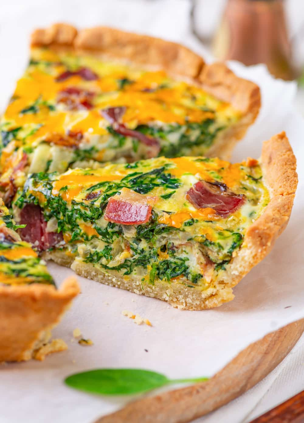 Keto Quiche Recipe The Best Low Carb Easy To Make Spinach Quiche For Keto