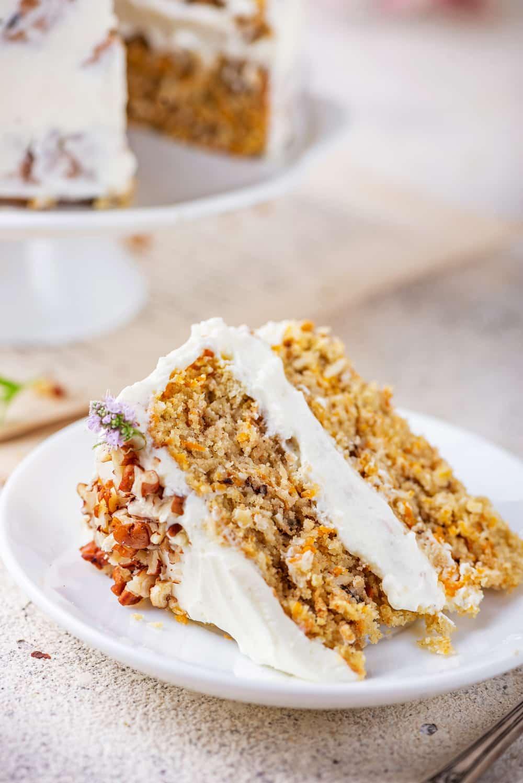 Keto Carrot Cake Recipe Sugar Free Low Carb Incredibly Easy