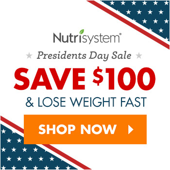 nutrisystem president's day sale