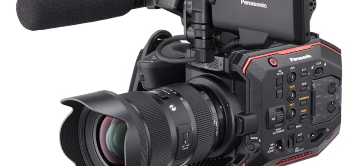 The new Panasonic AU-EVA1 digital video camera