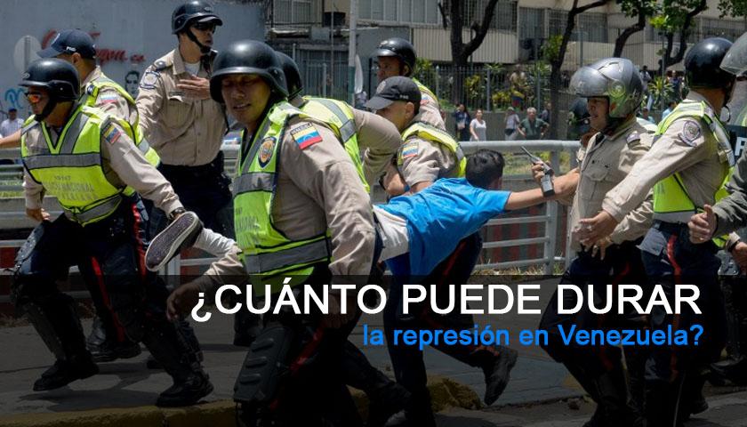 ¿Cuánto puede durar la represión en Venezuela?