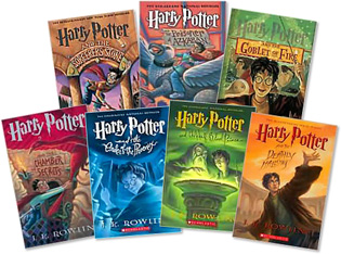 Image result for harry potter series amazon