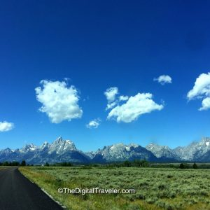Highway to the Grand Tetons
