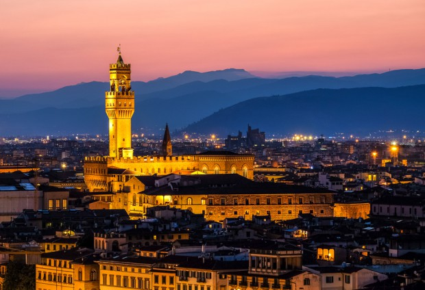 The Palazzo Vecchio (the town hall)