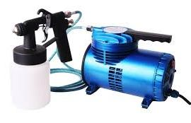 how to use a spray gun with an air compressor
