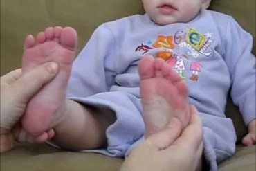 Reflexology for Constipation in Babies