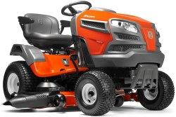 Husqvarna YTA24V48 24V Fast Continuously Variable Transmission Pedal Tractor Mower - 48 inches