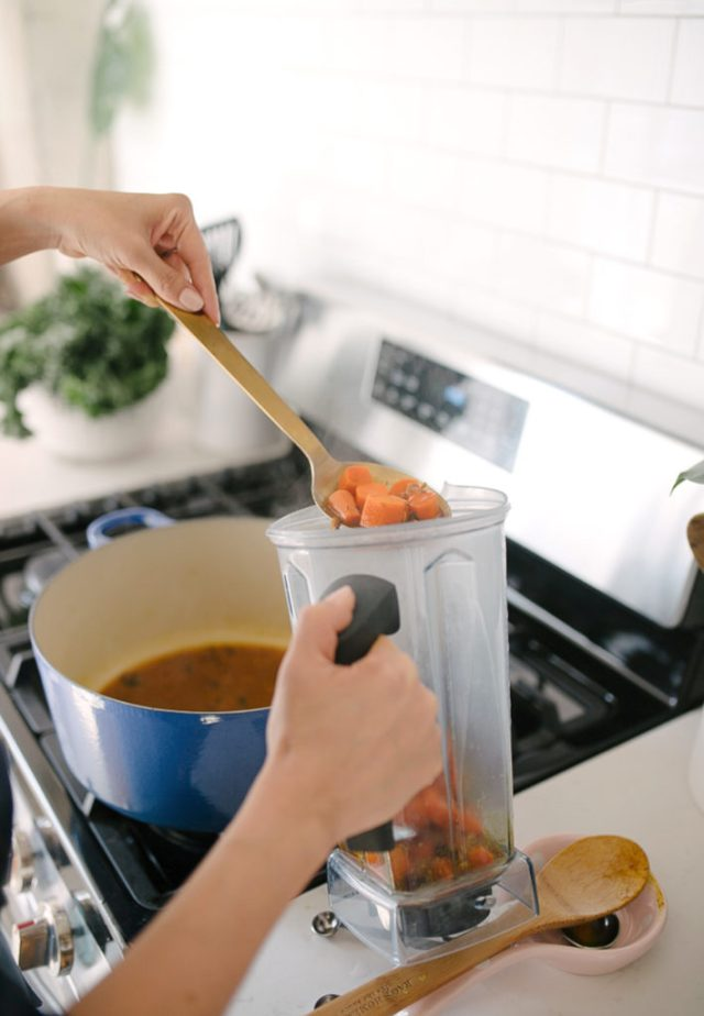 Carrot turmeric ginger soup