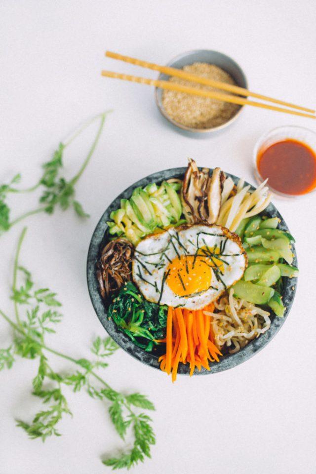 Traditional Korean Bibimbap Recipe