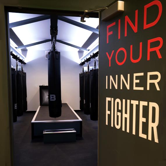 Inside Boxing Union Studio
