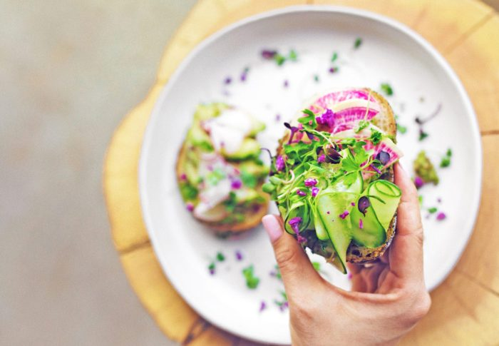 Cooking and experimenting in the kitchen is one way to spark joy at home during quarantine. #JoyAtHome #WellnessInspiration #TheDimpleLife #AvocadoToast