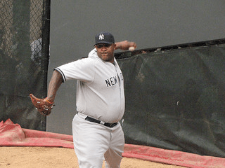Treat pulled adductor muscle strain - CC Sabathia photo
