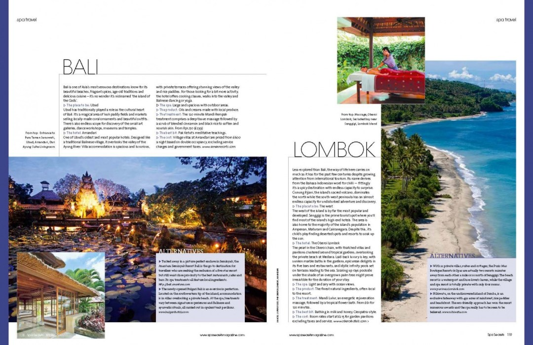Best Spas in South East Asia, Julianna Barnaby