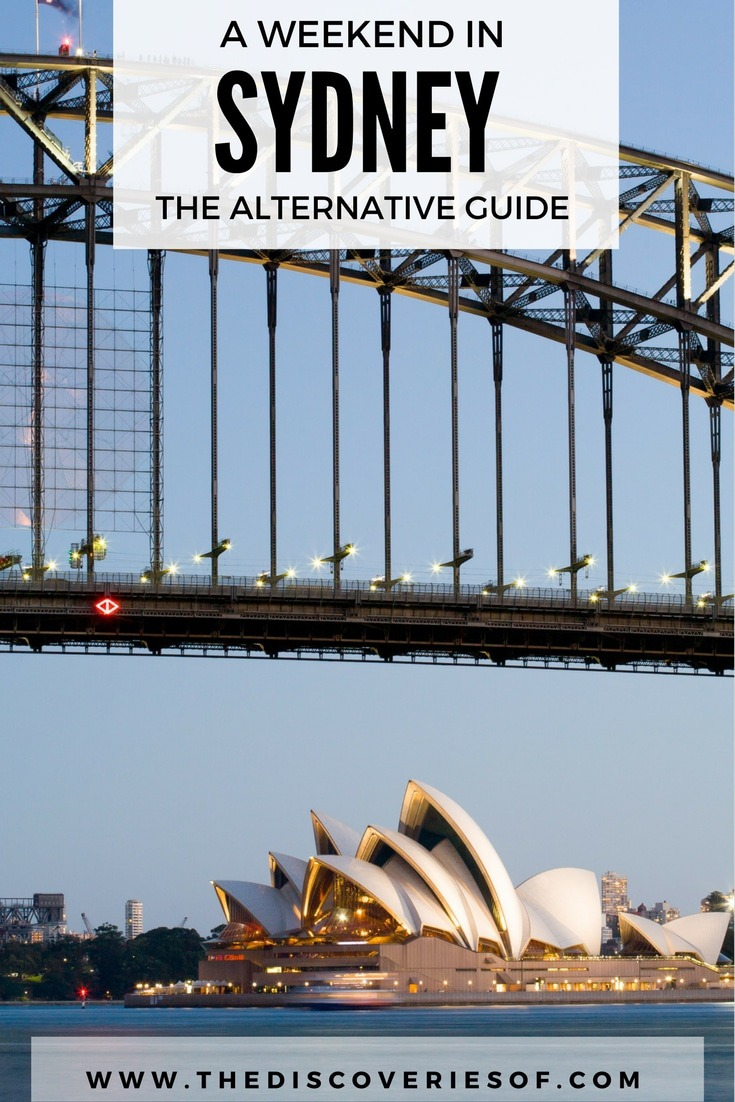 Sydney Travel Guide. You've seen the Opera House, what next? The alternative guide to things to see, do and eat in Sydney