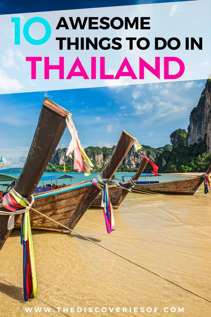 Thailand has it all - beaches, amazing landscapes, temples and delicious food. Click to read the top ten things to do you simply can't miss your next trip.
