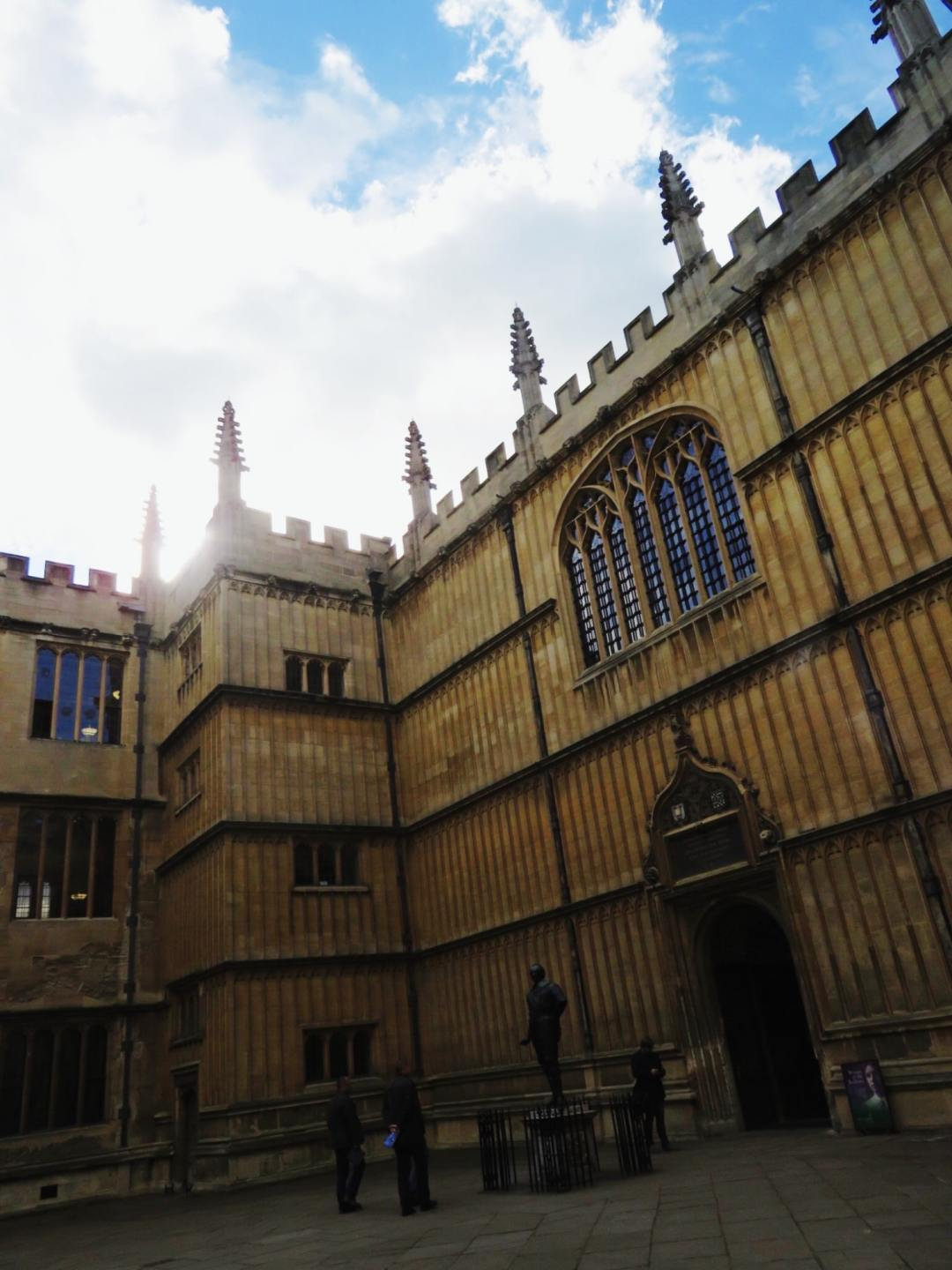 Old Bodleian Library in Oxford