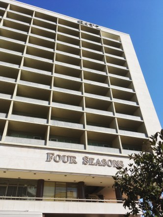 Exterior of Four Seasons Hotel Ritz - Postwar Architecture