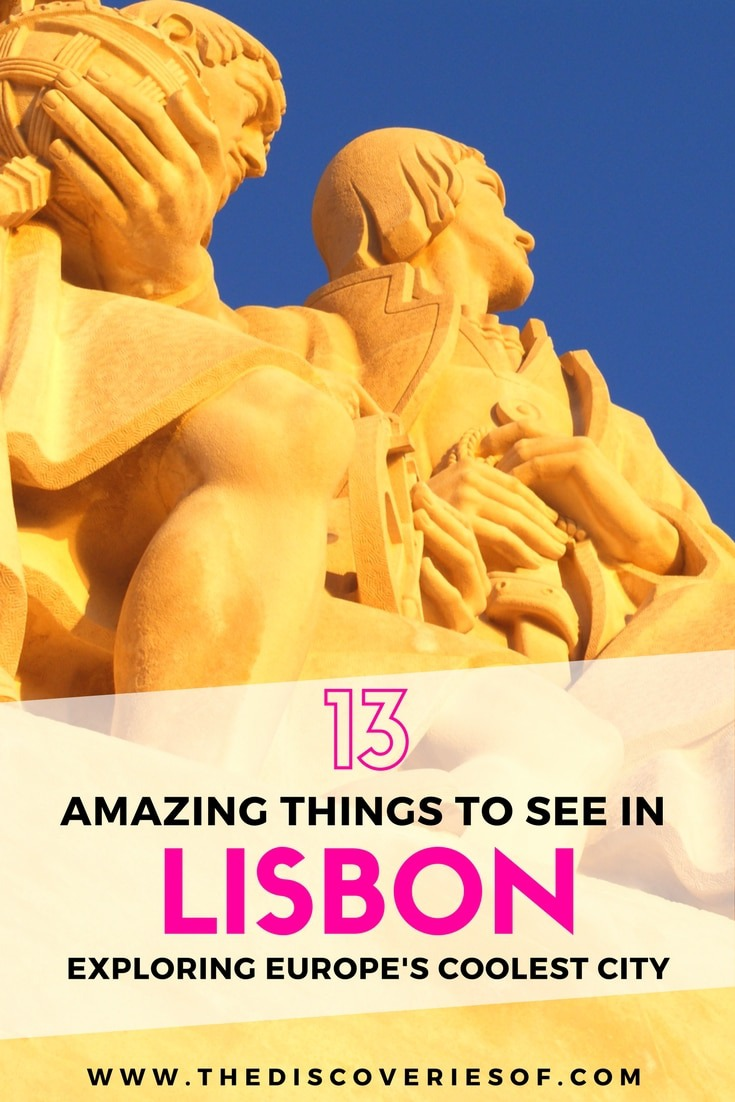 13 awesome things to do in Lisbon, Portugal. Travel to Lisbon for the amazing food, nightlife, bars, art and architecture. Here's how...